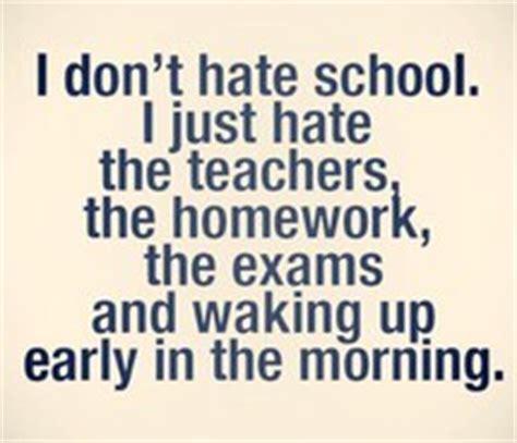 Why do people hate homework